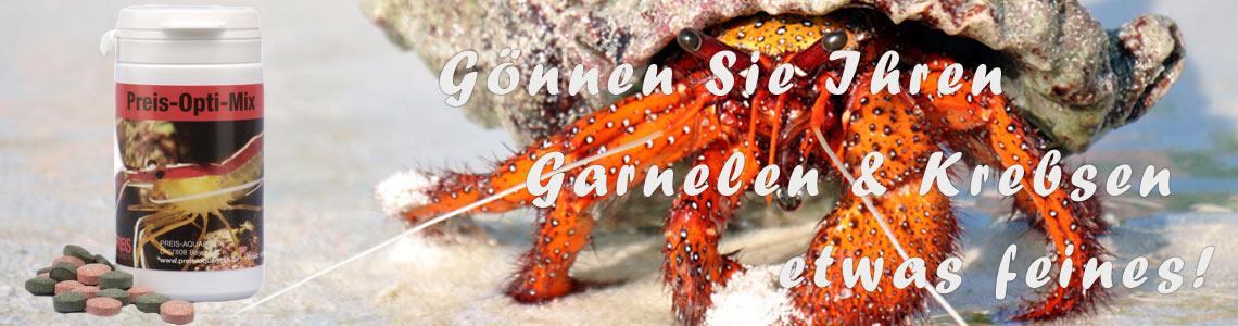 Meerwasseraquarium Garnelenfutter Promo