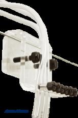 Verschiedene Varianten und Hersteller Schlauchhalterungen
