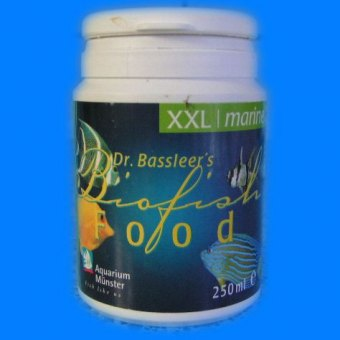 Aquarium Münster Dr. Bassleers Biofish Food tropic Körnung XL 500ml