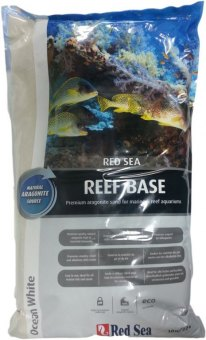 Red Sea Reef Base trockener Aragonit Sand 10 kg 0,25-1 mm