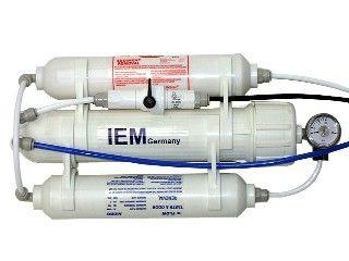 IEM Osmoseanlage Aqua FM 285 Liter/Tag 3 stufig mit Manometer