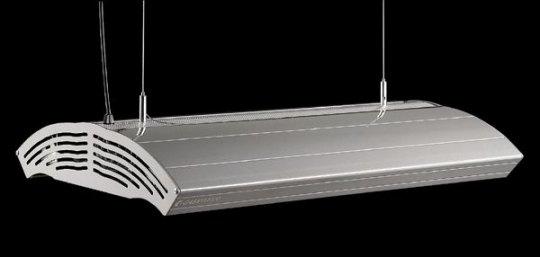 Giesemann Aurora 340 W + 4x80 W Hybrid LED T5 champagner metallic