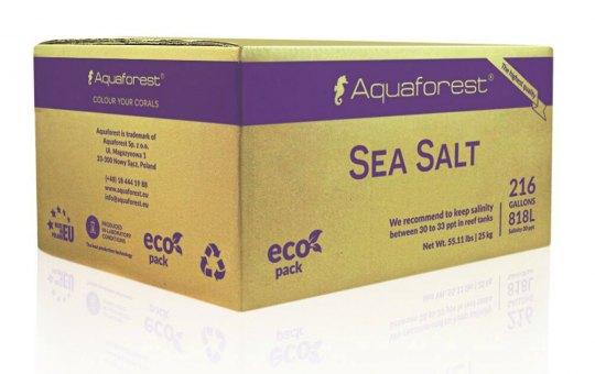 Aquaforest Sea Salt verschiedene Packungsgrößen 25 kg Karton