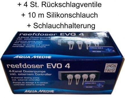 Aqua Medic reefdoser Evo 4 + Zubehör