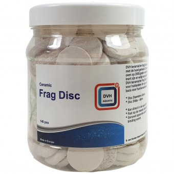 DVH Aquatic Ceramic Frag  Discs 140 Stück Ablegersteine