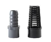 Schlauchtülle und Ansaugkorb für EcoTech Vectra Pumpen