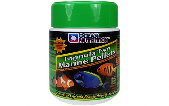 Ocean Nutrition Pellet Formula Two small 100 gr.