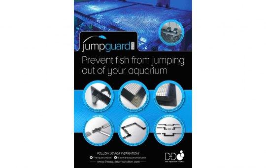 JumpGuard PRO lichtdurchlässige Aquarienabdeckung 75x75 cm