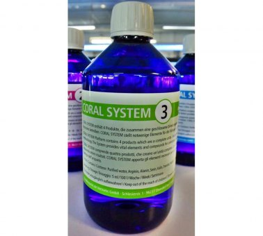 Korallenzucht Coral System 1-4 Coral System 3 - Amino Acids 250 ml