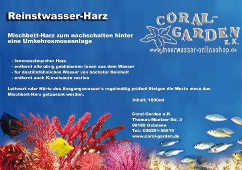 Reinstwasser Harz Mischbettharz 5000 ml / 3400 g
