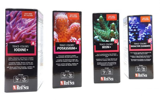 Red Sea Coral Colors A, B, C, D (4x500 ml)