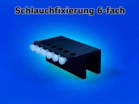 Aqua Connect Schlauchfixierung 6-fach Glaskante