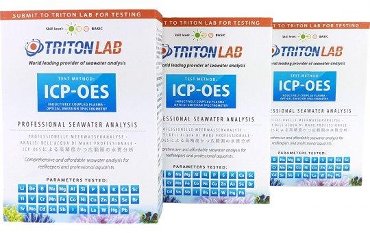 3x Tritonlab professionelle Wasseranalyse ICP-OES 32 Parameter