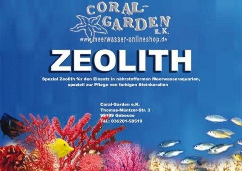 Coral-Garden Zeolith