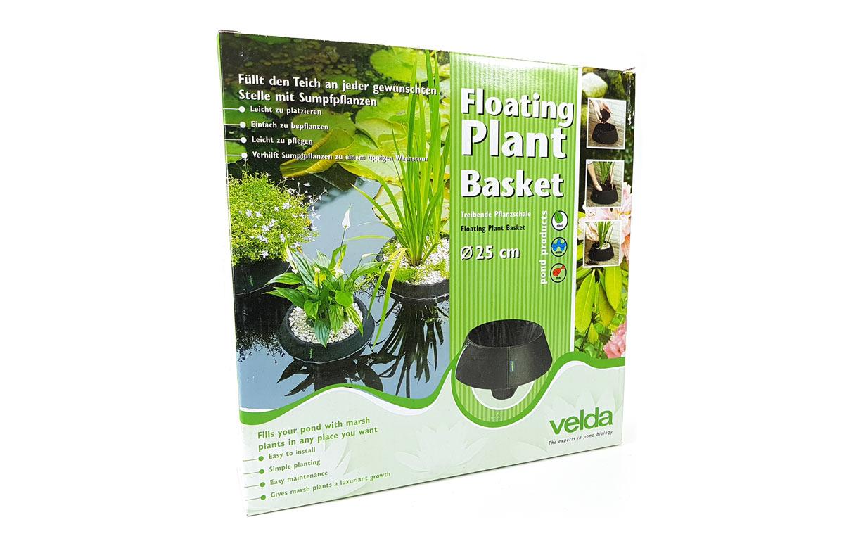 Velda floating plant basket treibende schwimmende Pflanzschale Ø 30 cm