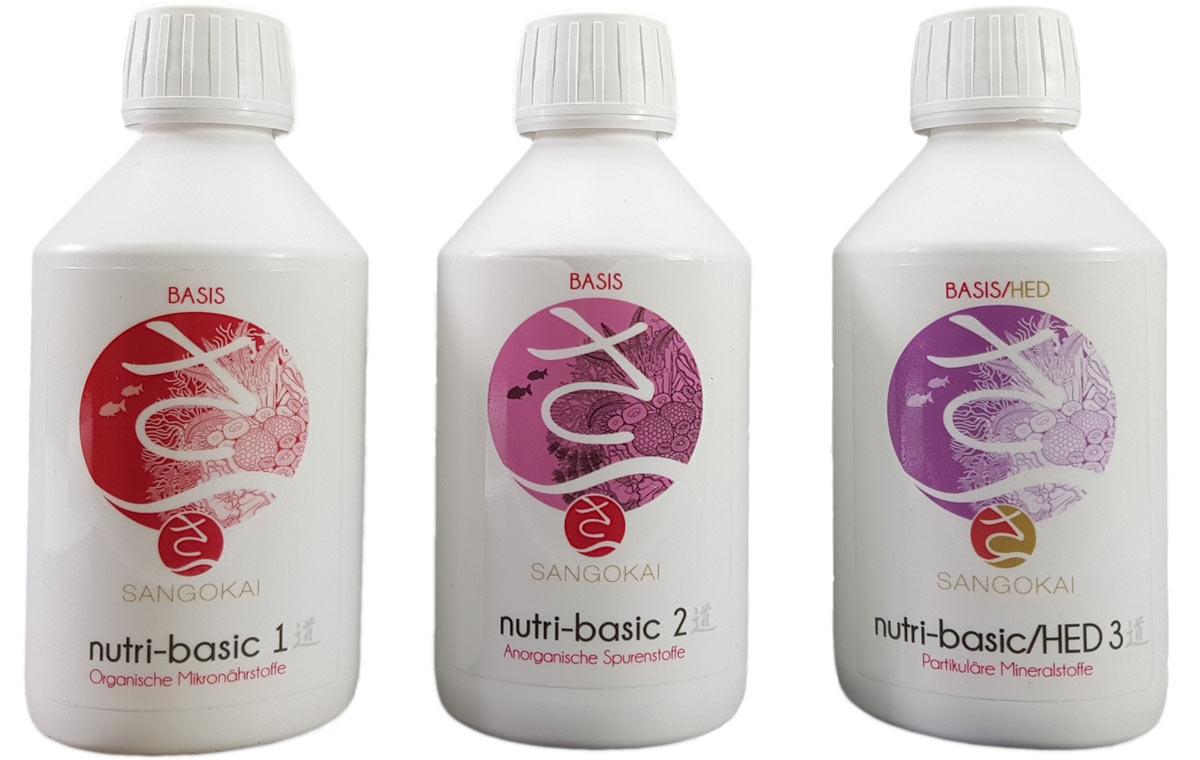 Bild Basis-Set bestehend aus Nutri-Basic Komponenten #1, 2 und 3