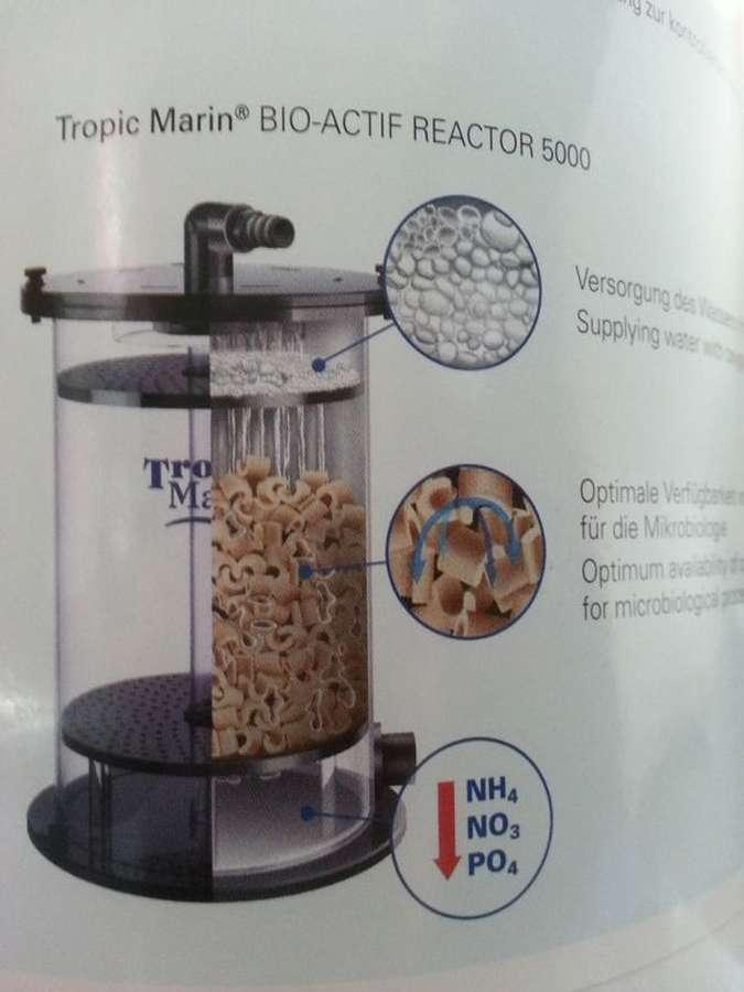 tropic marin bio actif reactor   pellet filter