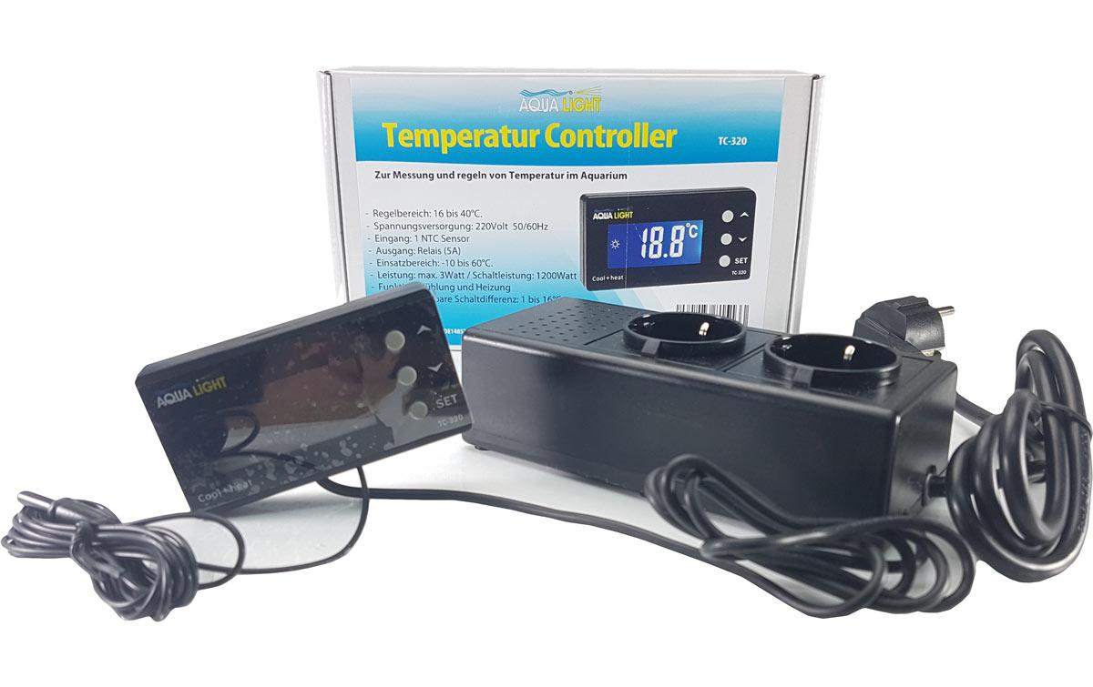 aqua light temperatur controller f r aquarien in heizung. Black Bedroom Furniture Sets. Home Design Ideas
