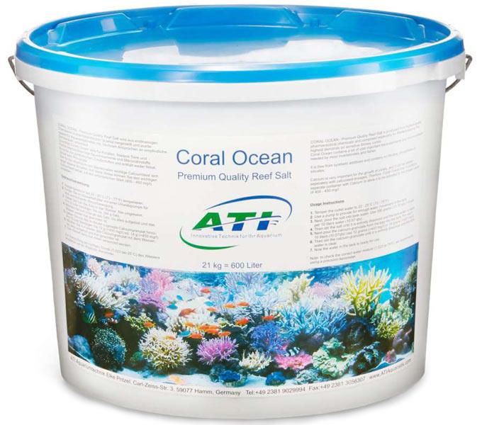 Bild 21 kg Salzeimer ATI Coral Ocean