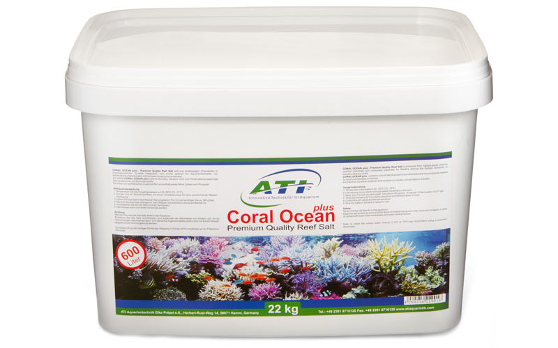 Bild ATI Meersalz Coral Ocean Plus im 22 kg Eimer